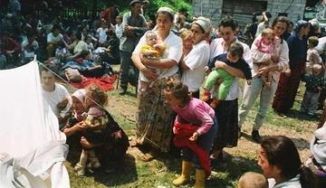 Selma Musić a Kladanj, luglio 1992 - Foto Ahmet Bajrić Blicko