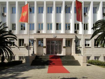 Sede del parlamento montenegrino