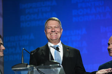 Il presidente rumeno Klaus Iohannis (© Creative Lab/Shutterstock)