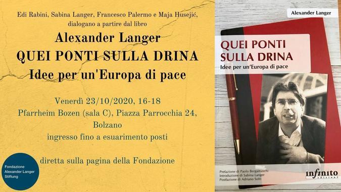Evento 23 ottobre a Bolzano, locandina