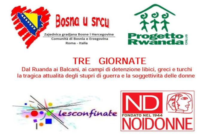 Dal Ruanda ai Balcani - locandina