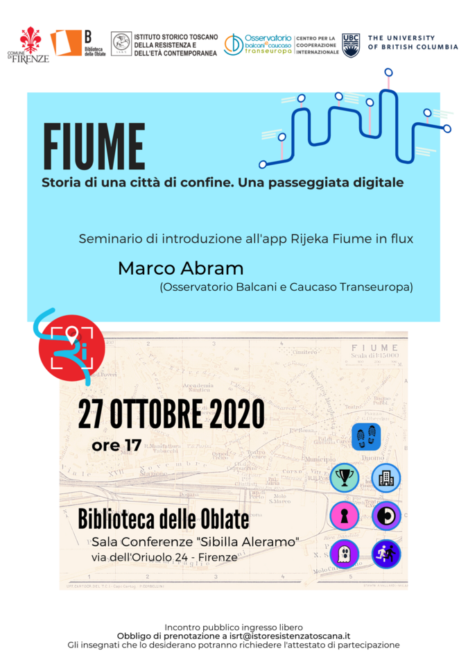 Evento 27 ottobre Firenze, locandina