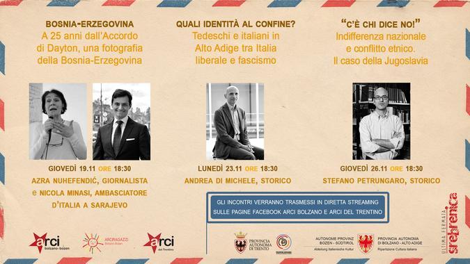 Eventi ARCI Bolzano - locandina