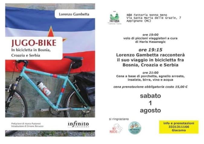 Jugo-Bike locandina 1 agosto 2020 Appignano