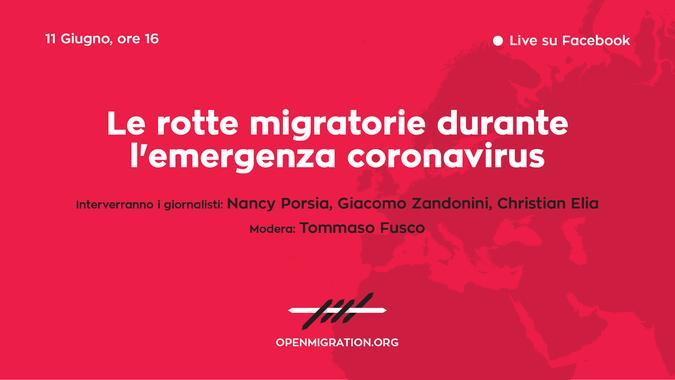Evento live 11 giugno Open Migration