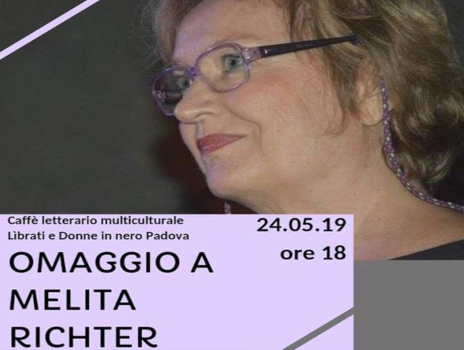 Omaggio a Melita RIchter, Padova 24 maggio 2019 - locandina