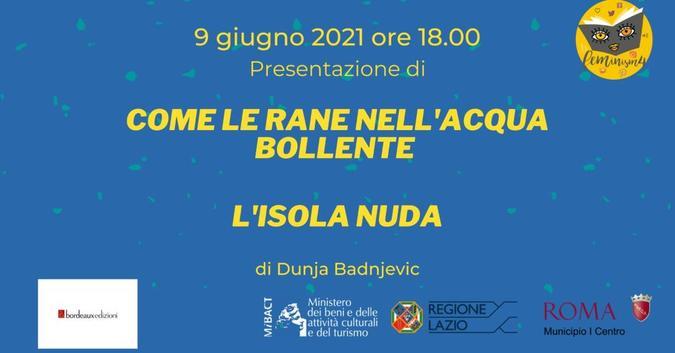 Evento 9 giugno 2021 - locandina