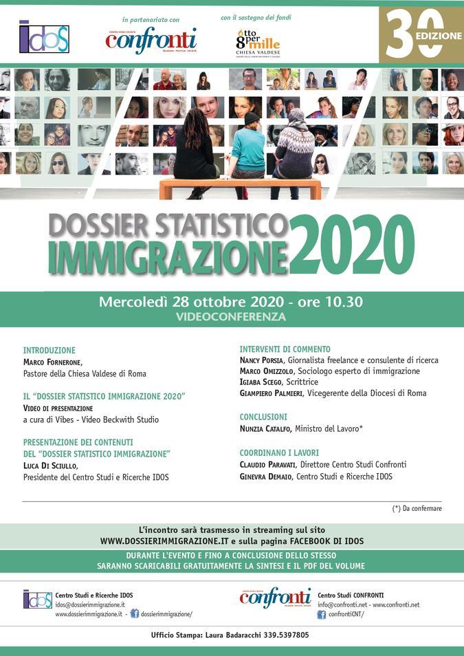 Locandina evento 28 ottobre IDOS
