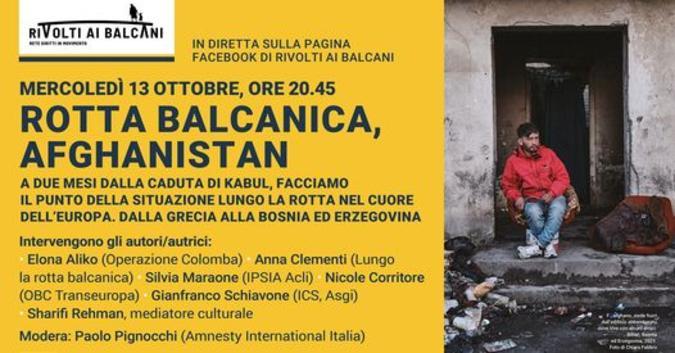 Locandina evento 13 ottobre 2021