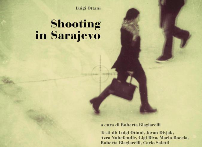 Shooting in Sarajevo - dalla Copertina