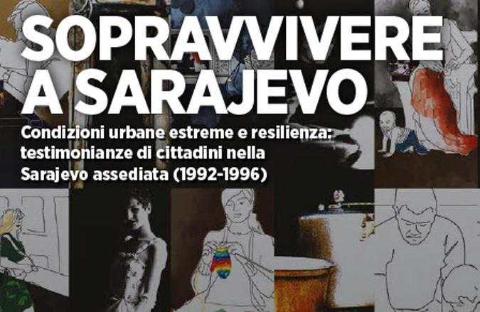 Libro Sopravvivere a Sarajevo, di Bébert Edizioni