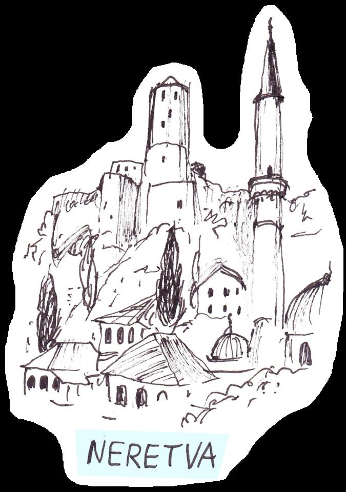 Bosnia Erzegovina e Dalmazia con Radio Popolare