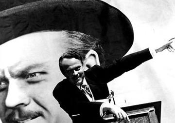 A scene from Citizen Kane by Orson Welles (Wikipedia)
