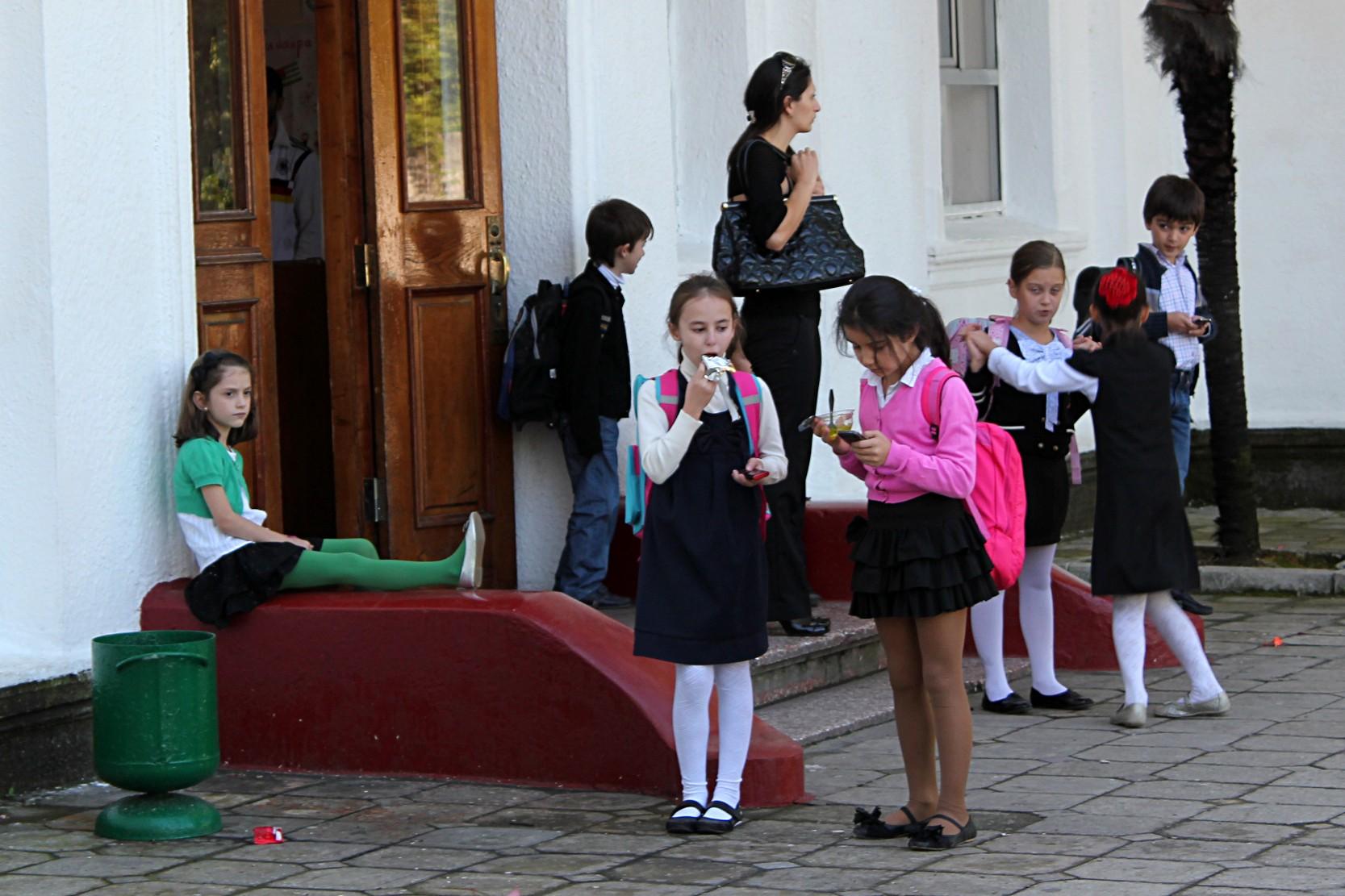 Una scuola a Sukhumi (foto: Giorgio Comai)