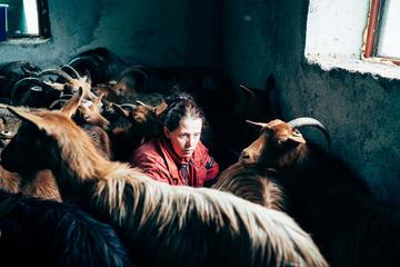 Villaggio montano di Blerim, nel nord dell'Albania - foto di Valery Poshtarov