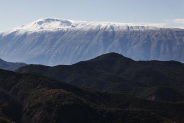 Una veduta del Parco nazionale di Dangëlli, Albania - foto di Camilla de Maffei