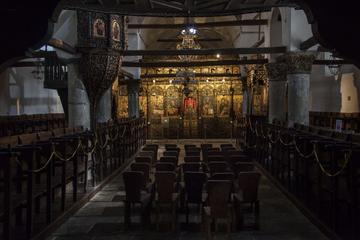 L'interno di una chiesa ortodossa