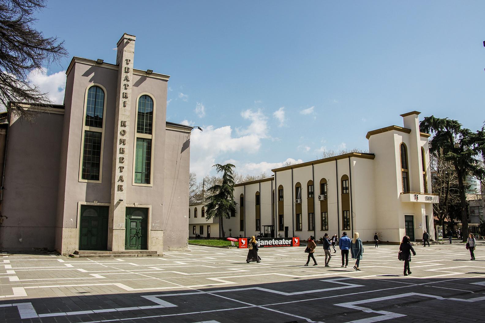 The National Theatre in Tirana (photo T. Mali)
