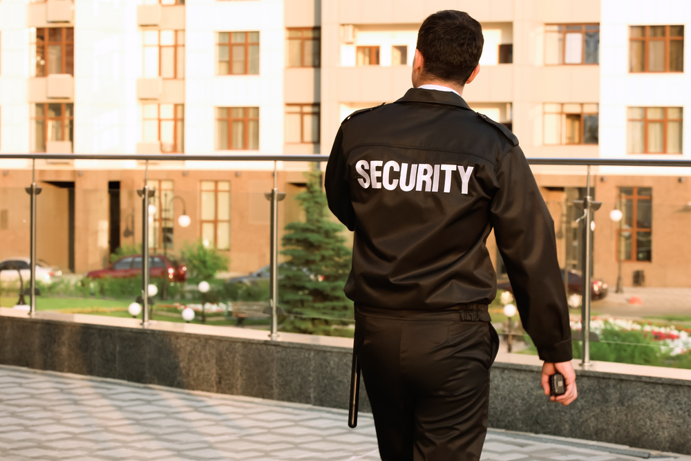 Guardia giurata (Africa Studio/Shutterstock)