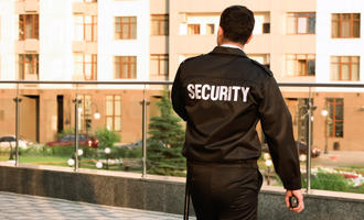 Security guard (Africa Studio/Shutterstock)