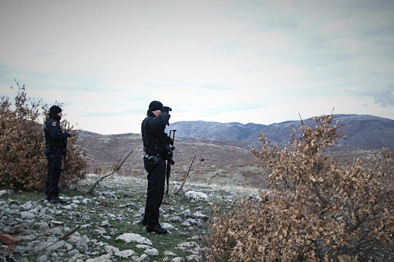 Lungo la frontiera greco-albanese - foto di Giovanni Vale