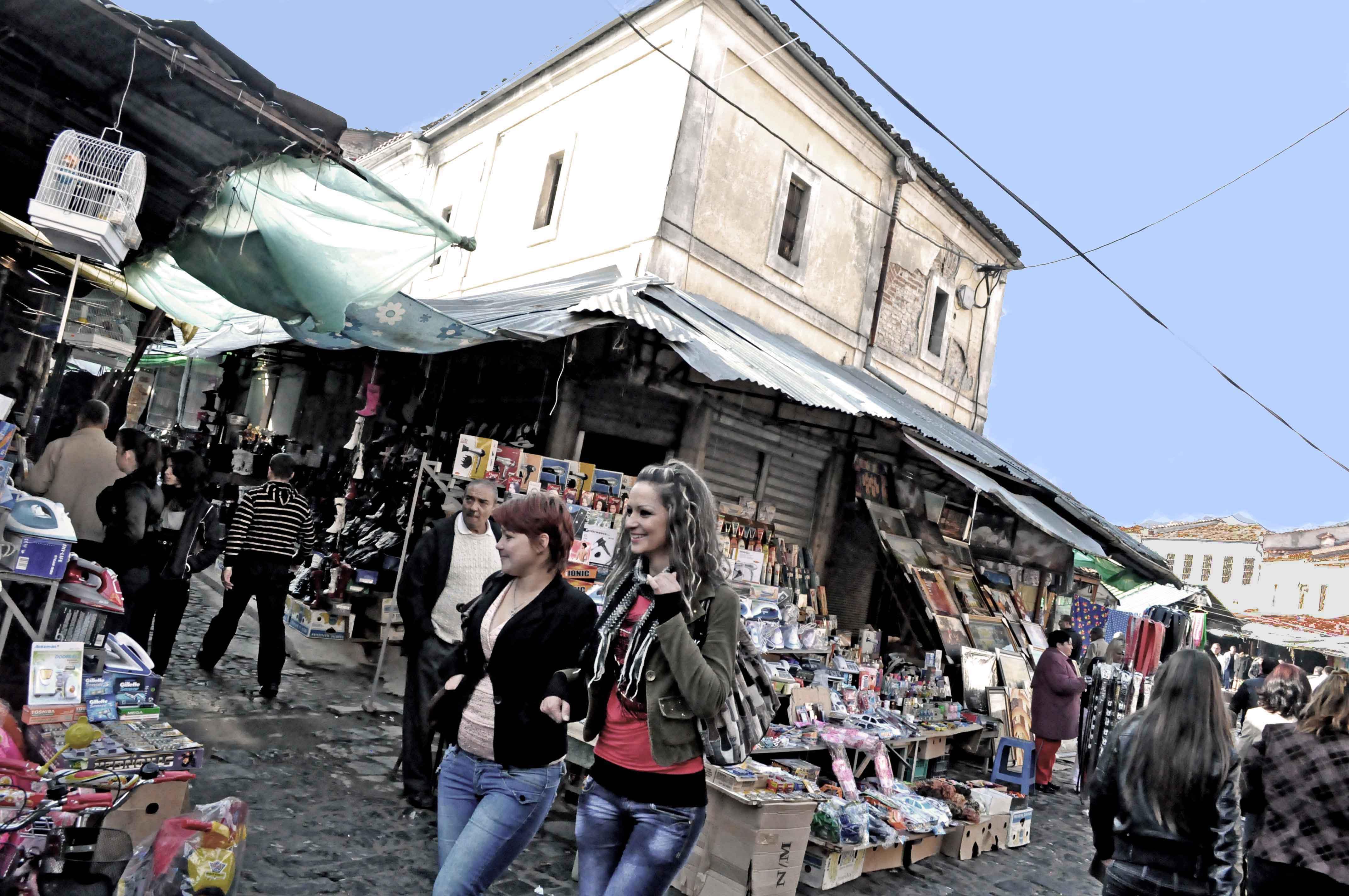 Korça, il bazar - Marjola Rukaj