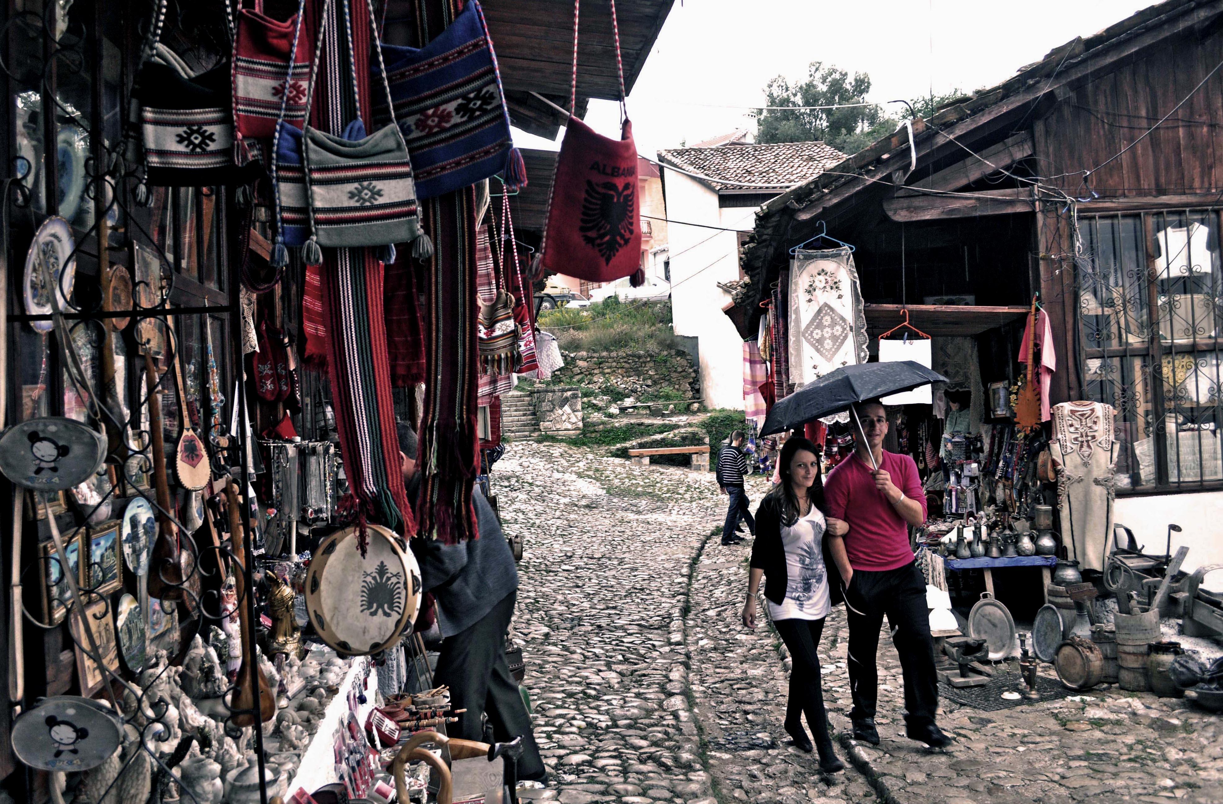 Il bazar di Kruja - foto di Marjola Rukaj