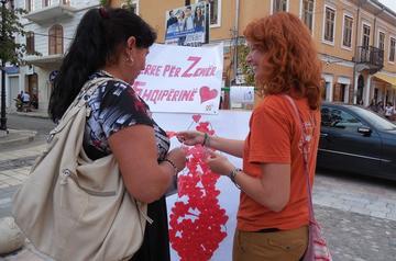 Un'iniziativa dell'Operazione Colomba nel nord dell'Albania (su gentile concessione Operazione Colomba)