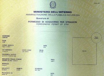 Permesso Di Soggiorno Italy Related Keywords & Suggestions - Permesso Di ...