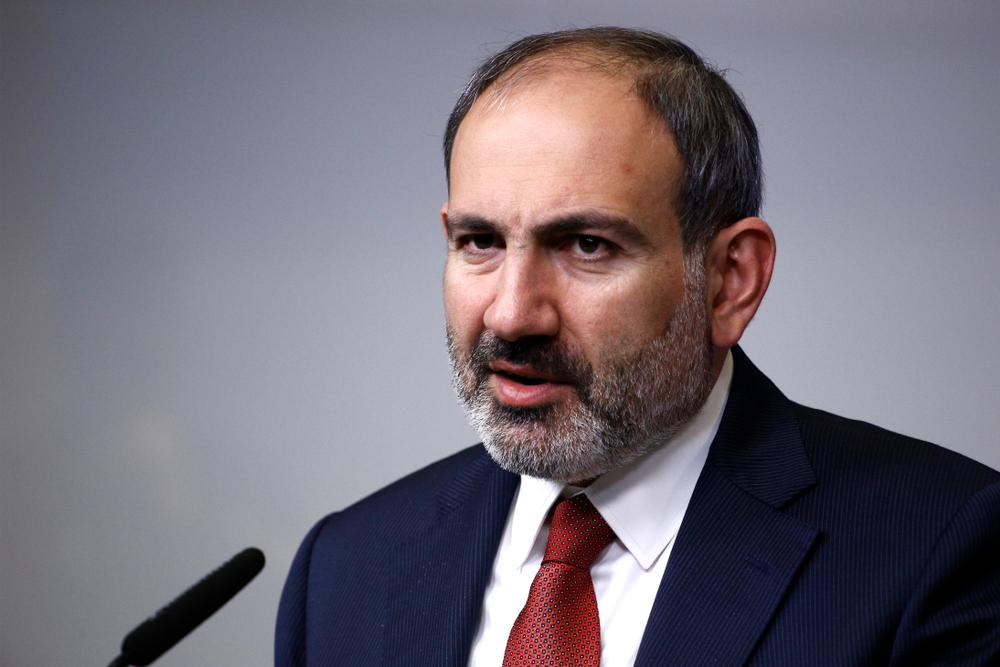 Il primo ministro armeno Nikol Pashinyan (© Alexandros Michailidis/Shutterstock)