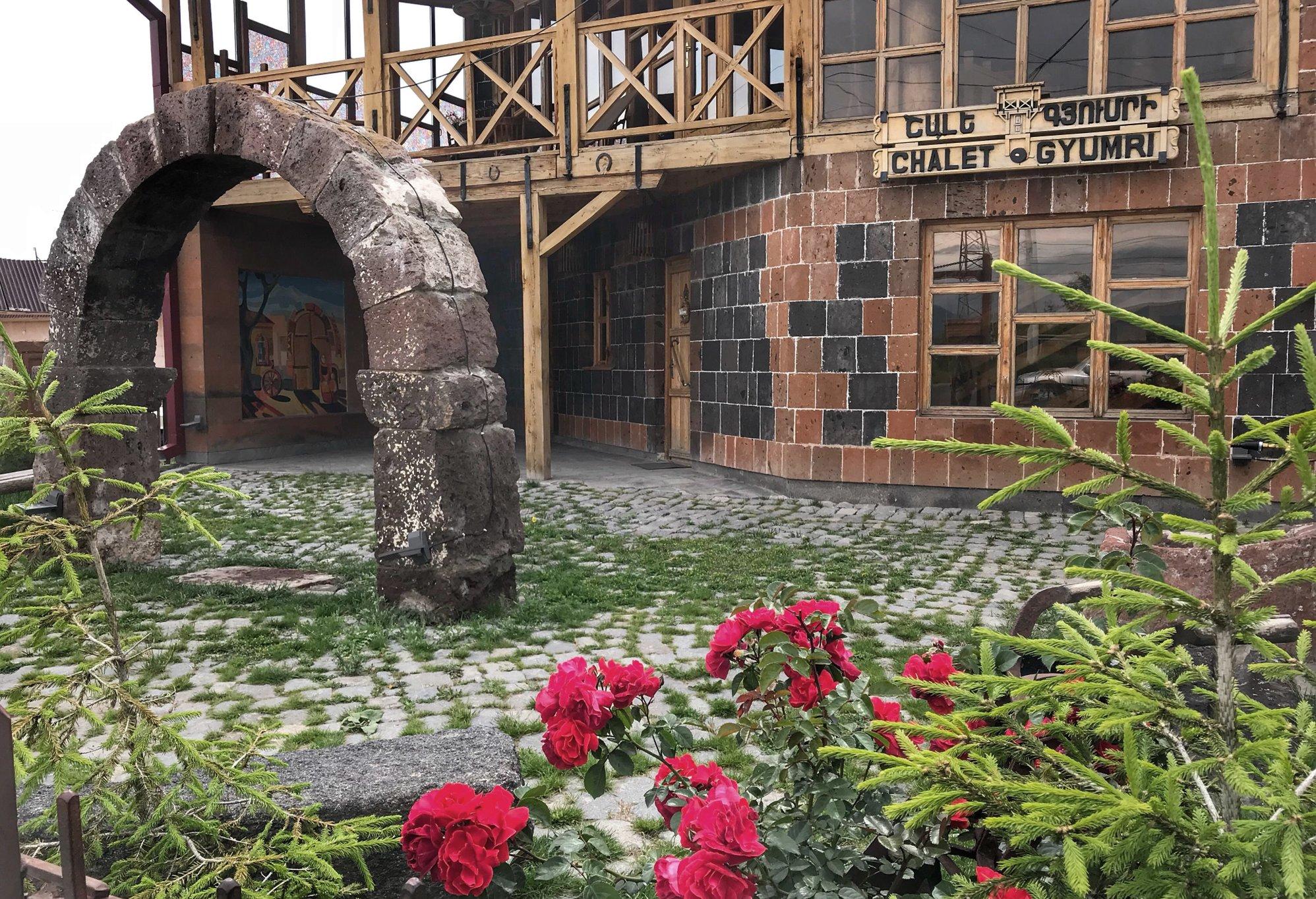 Una delle pensioni di Gyumri - Armine Avetisyan