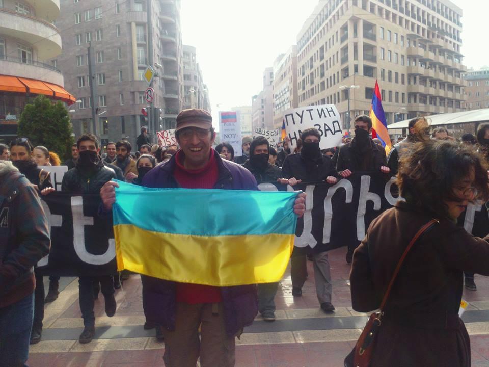 Le proteste del 2 dicembre a Yerevan (Foto Epress.am)
