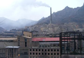 Il centro minerario di Alaverdi (Foto Ilenia Santin)