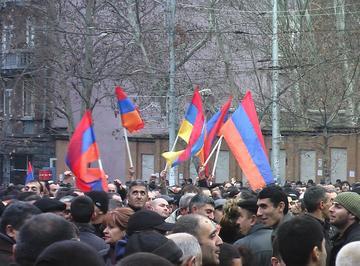 La manifestazione del primo marzo a Yerevan  (Foto Arman Veziryan)