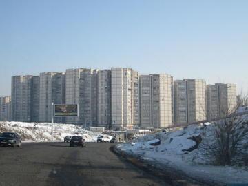 Il complesso CCCP alla periferia di Yerevan (Foto Ilenia Santin)