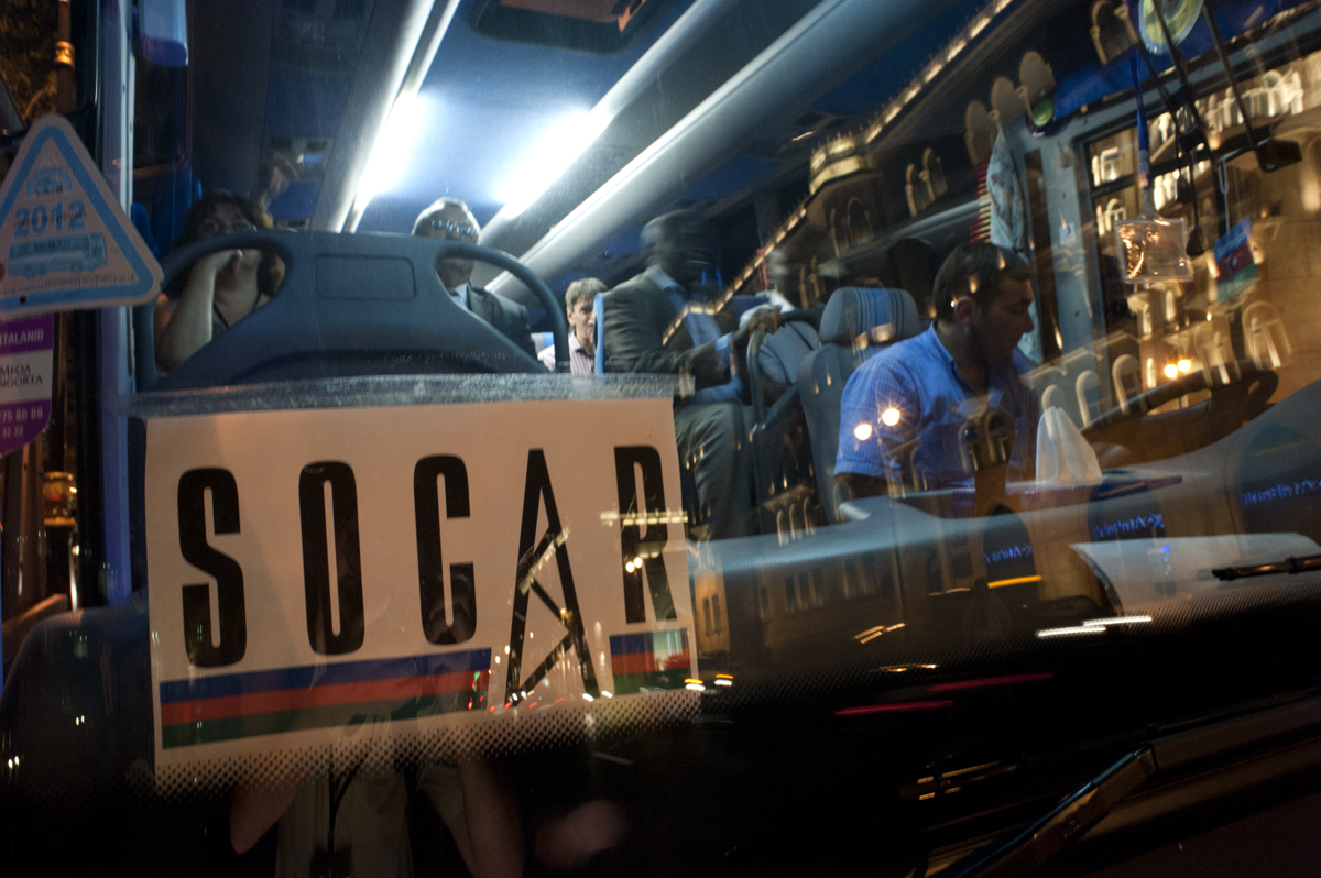 "The ""Socar"" logo (photo Francesco Martino/OBC)"