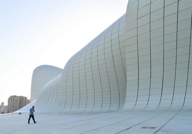 Cultural Centre Heydar Aliyev, Baku