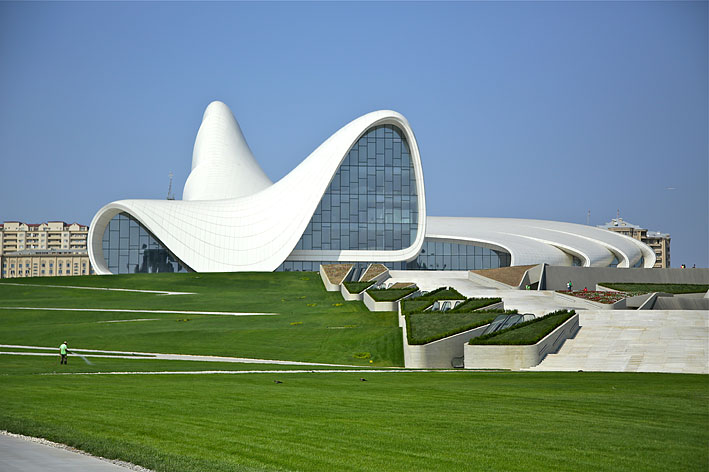 Haydar Aliyev Center (photo A. Geybullayeva)