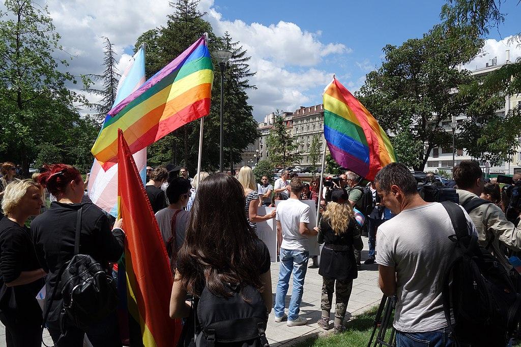 Pride a Belgrado (foto Bojan Cvetanović)