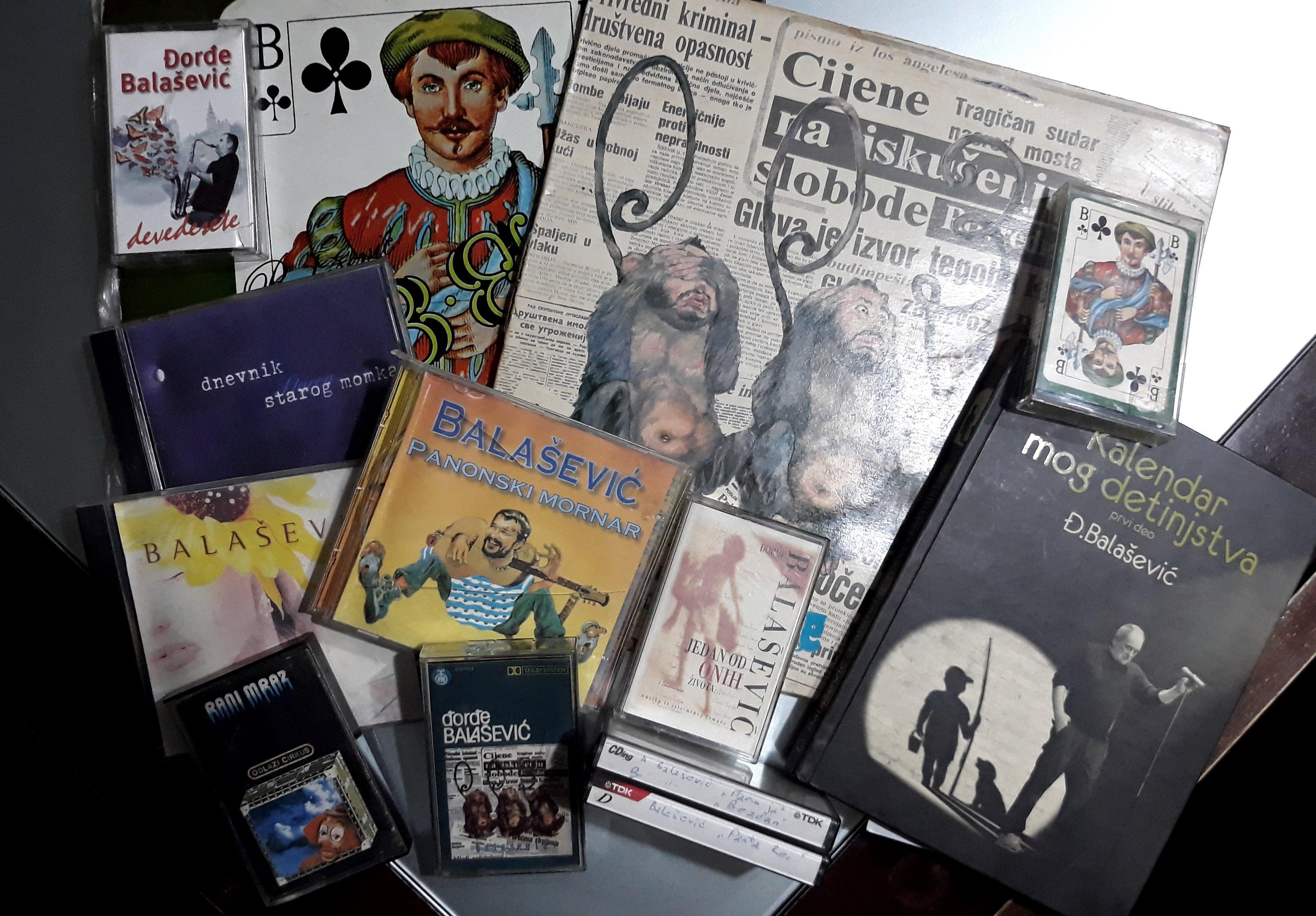 Alcuni album di Đorđe Balašević - Edvard Cucek