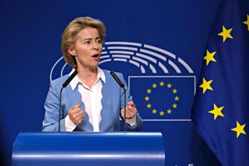La Presidente della Commissione europea Ursula von der Leyen (© Alexandros Michailidis/Shutterstock)