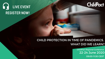 Invito alla conferenza di Childpact
