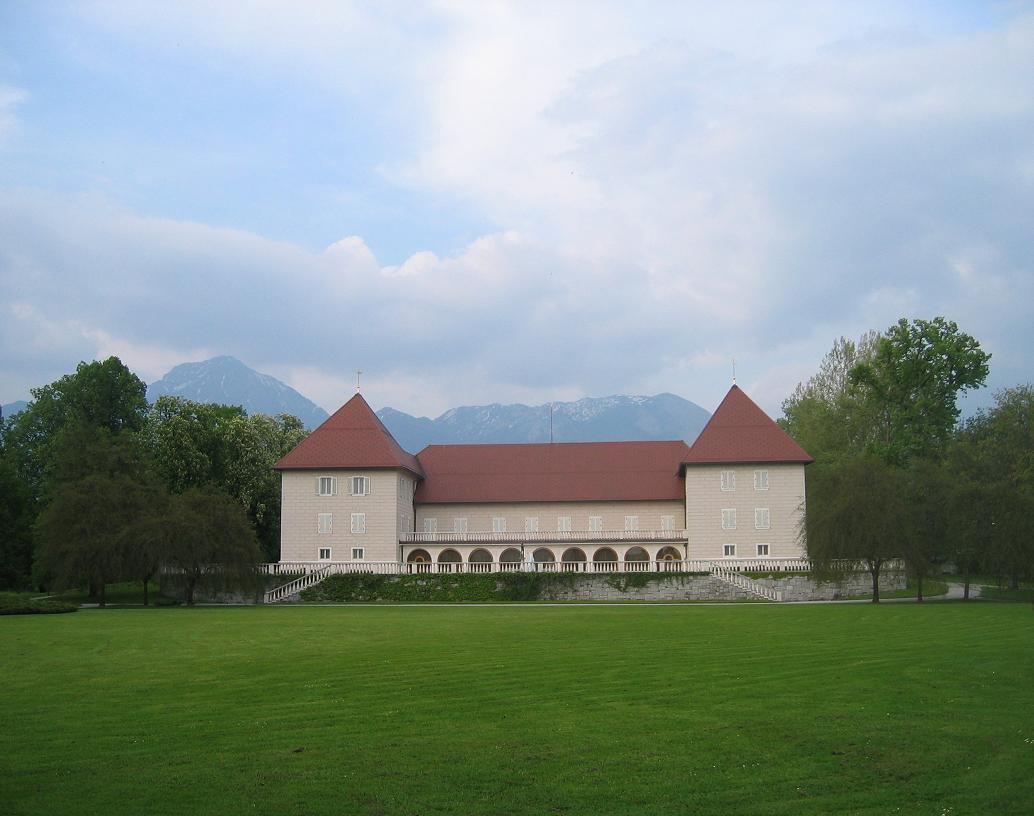 Il castello di Brdo pri Kranju - Foto Žiga (Public domain)