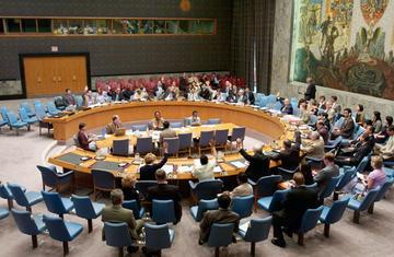 Voto della Risoluzione 827 dell'ONU istitutiva del ICTY (foto ICTY)