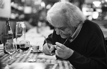 Izet Sarajlić (Foto Mario Boccia)
