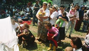 Selma Musić a Kladanj, luglio 1995 - Foto Ahmet Bajrić Blicko