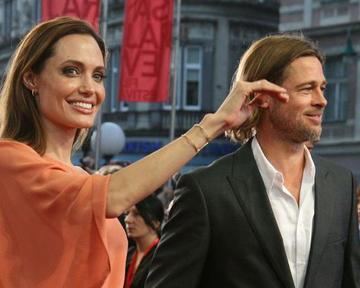 Angelina Jolie e Brad Pitt a Sarajevo (foto SFF)