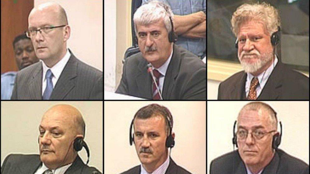 I sei leader politici e militari condannati dal ICTY