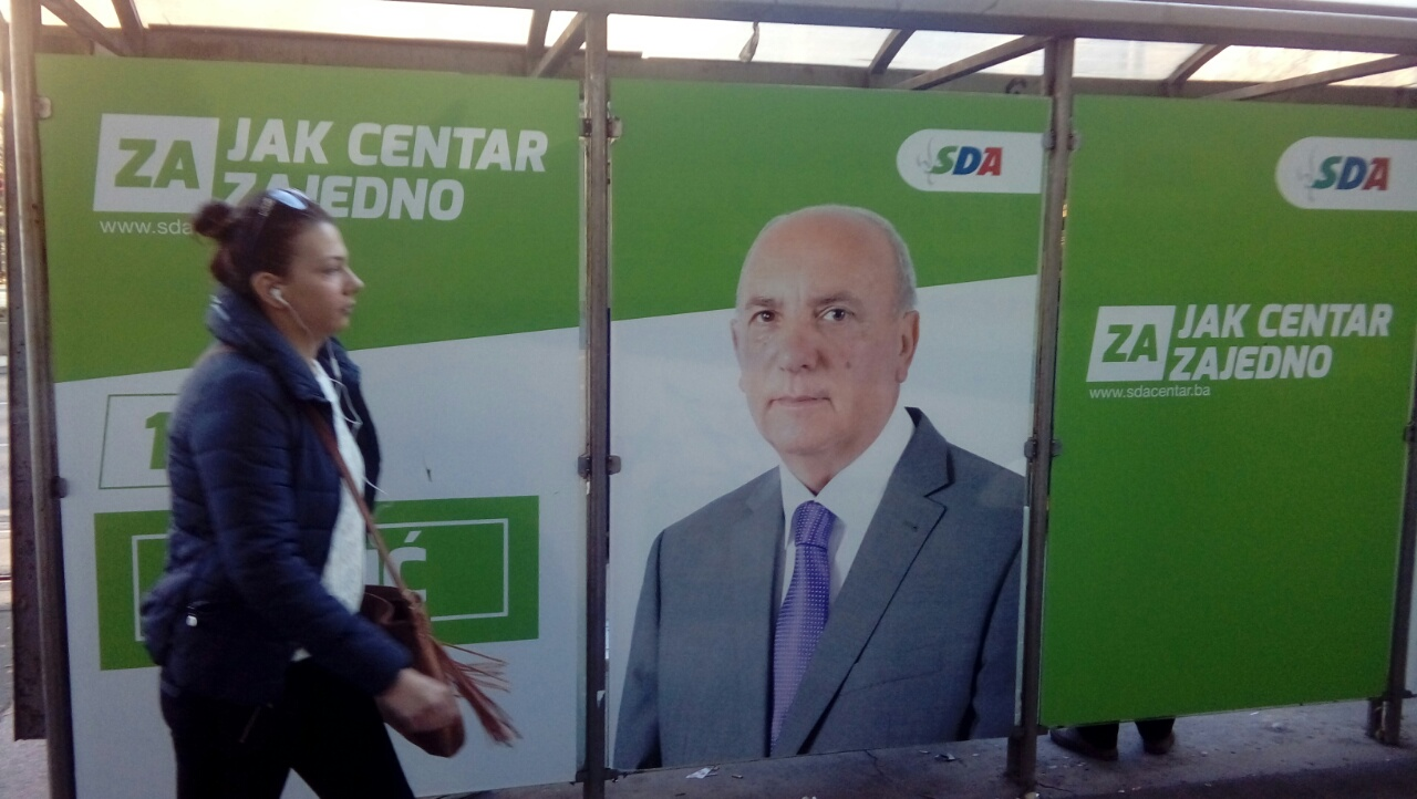 Izborni bilbordi u Sarajevo (foka A. Šušnjar)