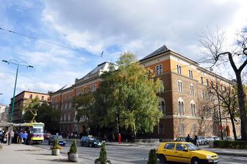 La sede della Presidenza della Bosnia Erzegovina (foto Predsjedništvo BiH/wiki commons)